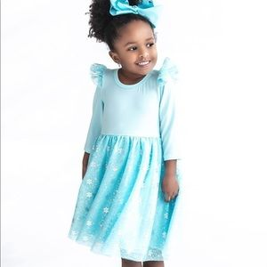Blue Tulle Dress - size 2T